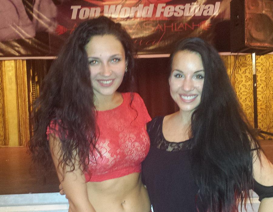 Dariya and Krisenna