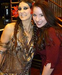 Rachel Brice and Krisenna